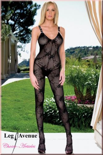 Spitzen-Bodystocking