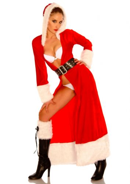 Weihnachtsmann-Mantel