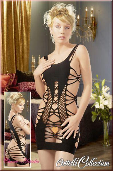 Kleid nahtlos schwarz S-L