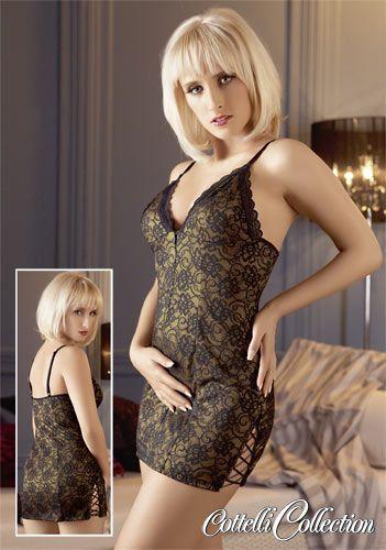 goldfarbenes Kleid