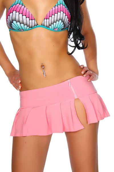 kurzer Minrock in rosa