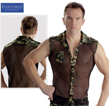 Herren-Shirt Camouflage