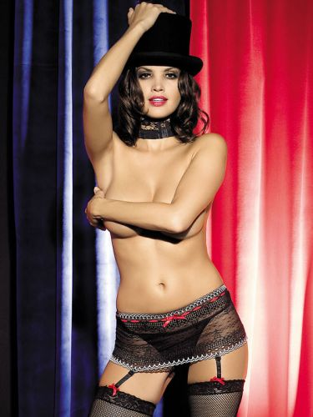 Strapsgürtel, Showgirl Garter Belt