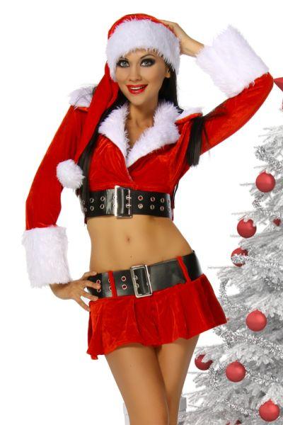 Weihnachts-Kostüm 6-teilig