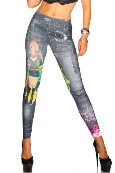 Jeansprint Leggings