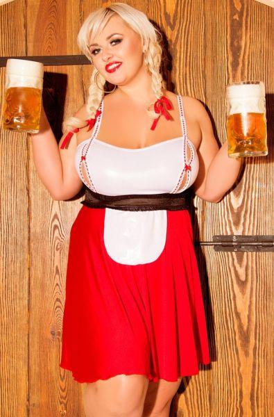 Trachten Outfit Heidi von Andalea Dessous