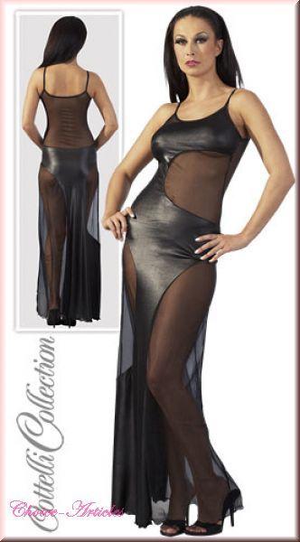 Kleid lang schwarz