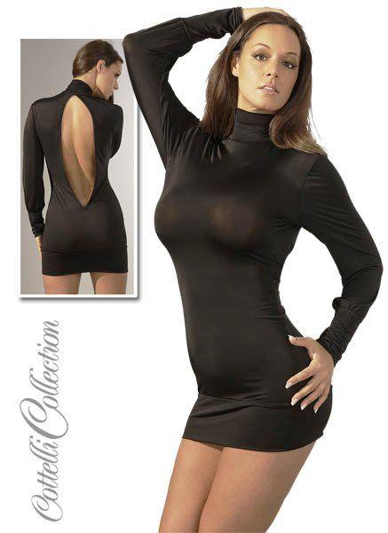Minikleid mit Rückenausschnitt