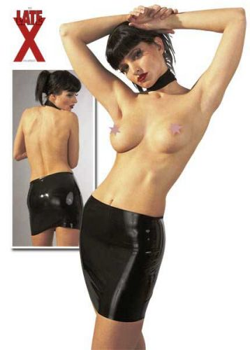 Latex Minirock