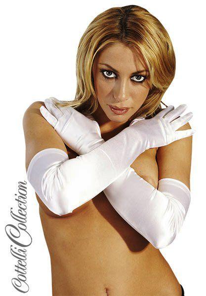 Handschuhe weiß S-L