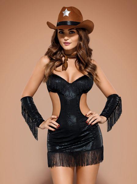 Gogo Clubwear Sheriff-Kostüm