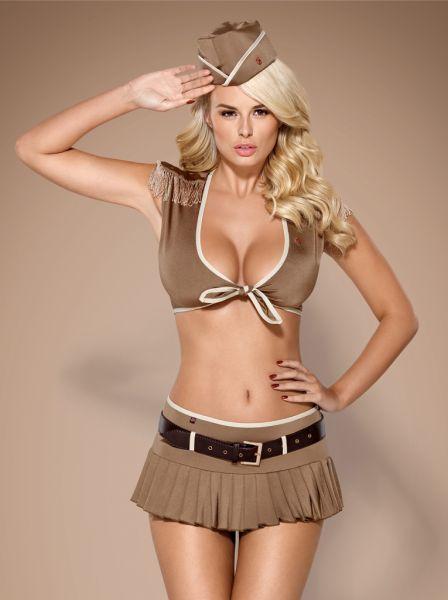 Soldatin-Kostüm von Obsessive
