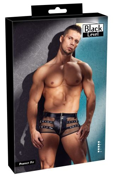 Lack-Herren-Pants von Black Level