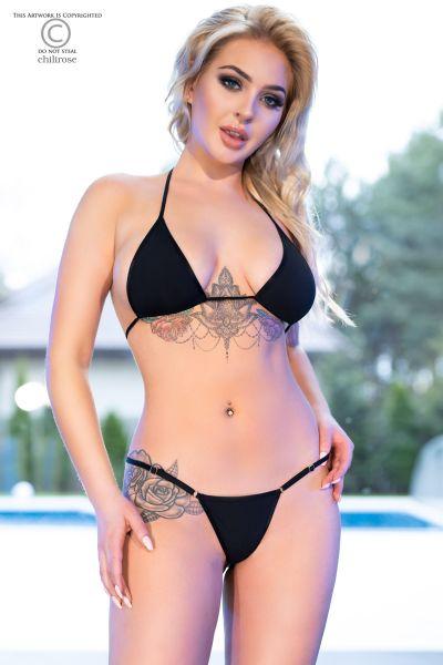 Mini-Bikini aus weichem und elastischem Material