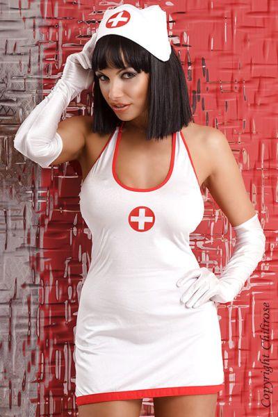 Krankenschwester Kostüm im Set