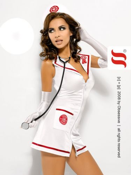 scharfes Krankenschwester Kostüm