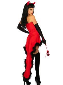 3-teiliges Teufelchen Kostüm
