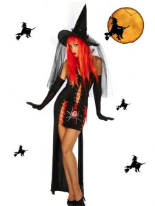 HALLOWEEN Kostüm Hexenkostüm