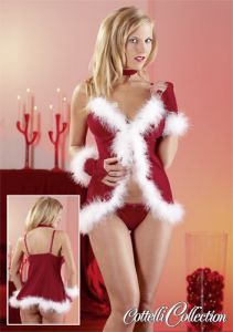 Weihnachts-Dessous X-mas Set