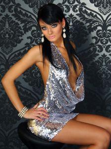 Club-Kleid SILVER NIGHT