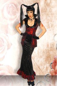 Hexen / Vampir-Kostüm