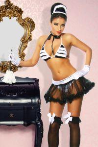 Dienstmädchen Hausmädchen-Kostüm
