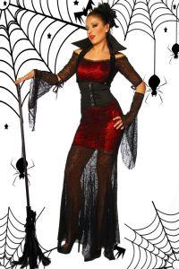 Karneval Kleid, Hexen-Kostüm