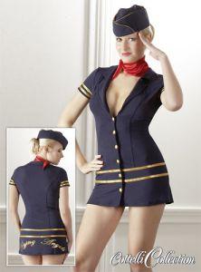 Stewardess Kostüm für Rollenspiele