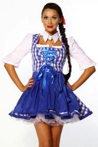 typisches Dirndl-Kleid