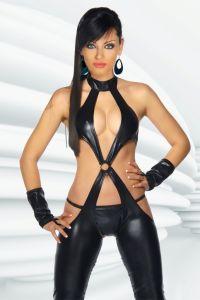 Wetlook-Kostüm Overall