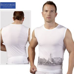 Herren-Shirt Skyline