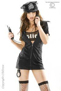 Polizei Kostüm Police von Chilirose