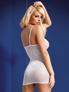 weißes Dessous-Kleid von Obsessive