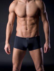 MANstore Mini Pants in Mattschwarz