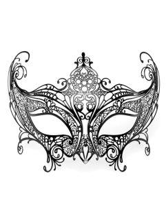 Venezianische Maske aus Metall