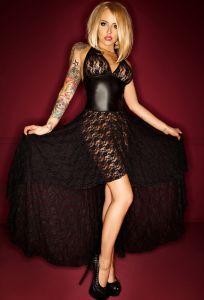 langes Clubwear-Kleid von NOIR