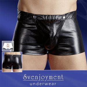 Lederimitat-Pants
