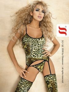 Straps-Set im Animal-Look