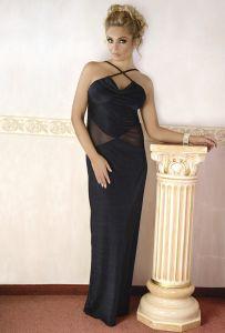 Abendkleid in schwarz bis Größe 56