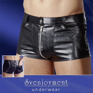 Herren Shorts im Uniform-Look