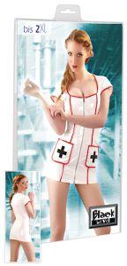 Krankenschwester Lack-Kleidchen