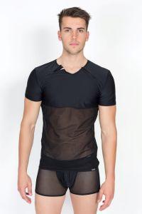 T-Shirt von LOOK ME, mit zwei vorderen Reißverschlüssen