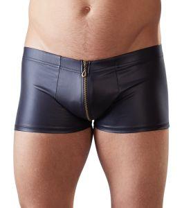 Pants im Mattlook mit durchgehenden Reißverschluss