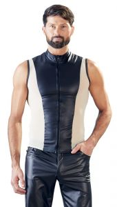 Shirt in schwarz/nude von Svenjoyment