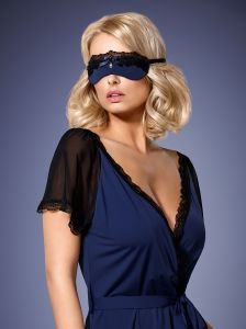 Maske in dunkelblau von Obsessive