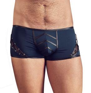 Pants im Mattlook mit seitlicher Dekoschnürung