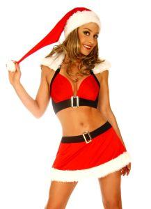 sexy Weihnachts Kostüm Gogo