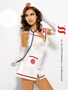 Krankenschwester Kostüm von Obsessive bei Choice-Articles im Go go-Shop kaufen