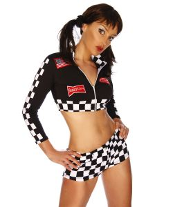 Racing Top mit Hotpants