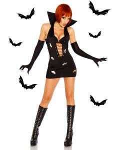 Sexy Vampir-Minikleid